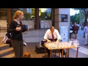 glass harp and concertina