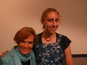 Sylvia Earle and Heather Spence