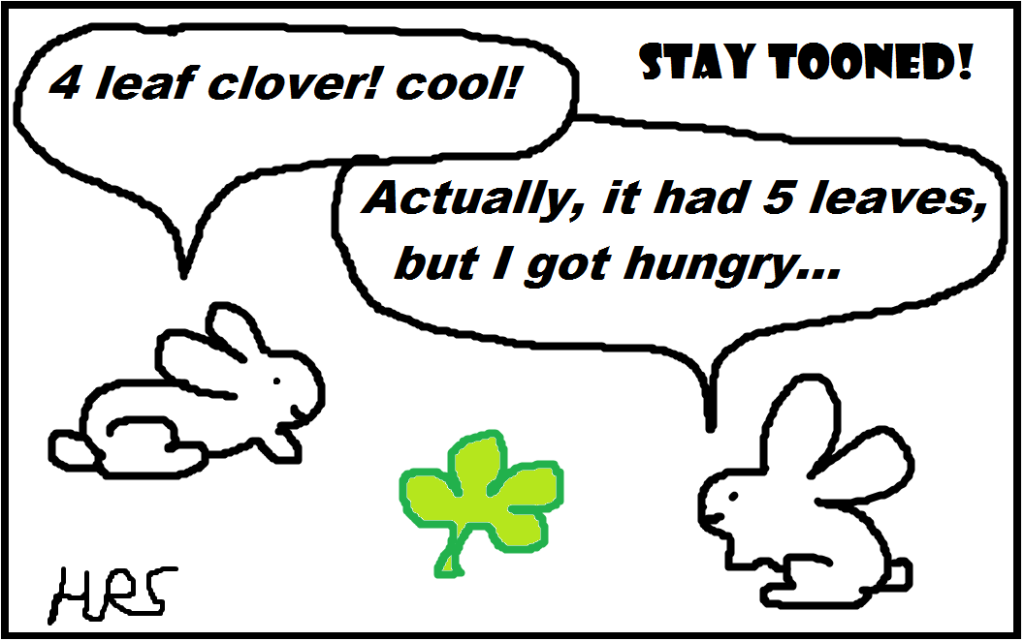 STAY TOONED shamrocks