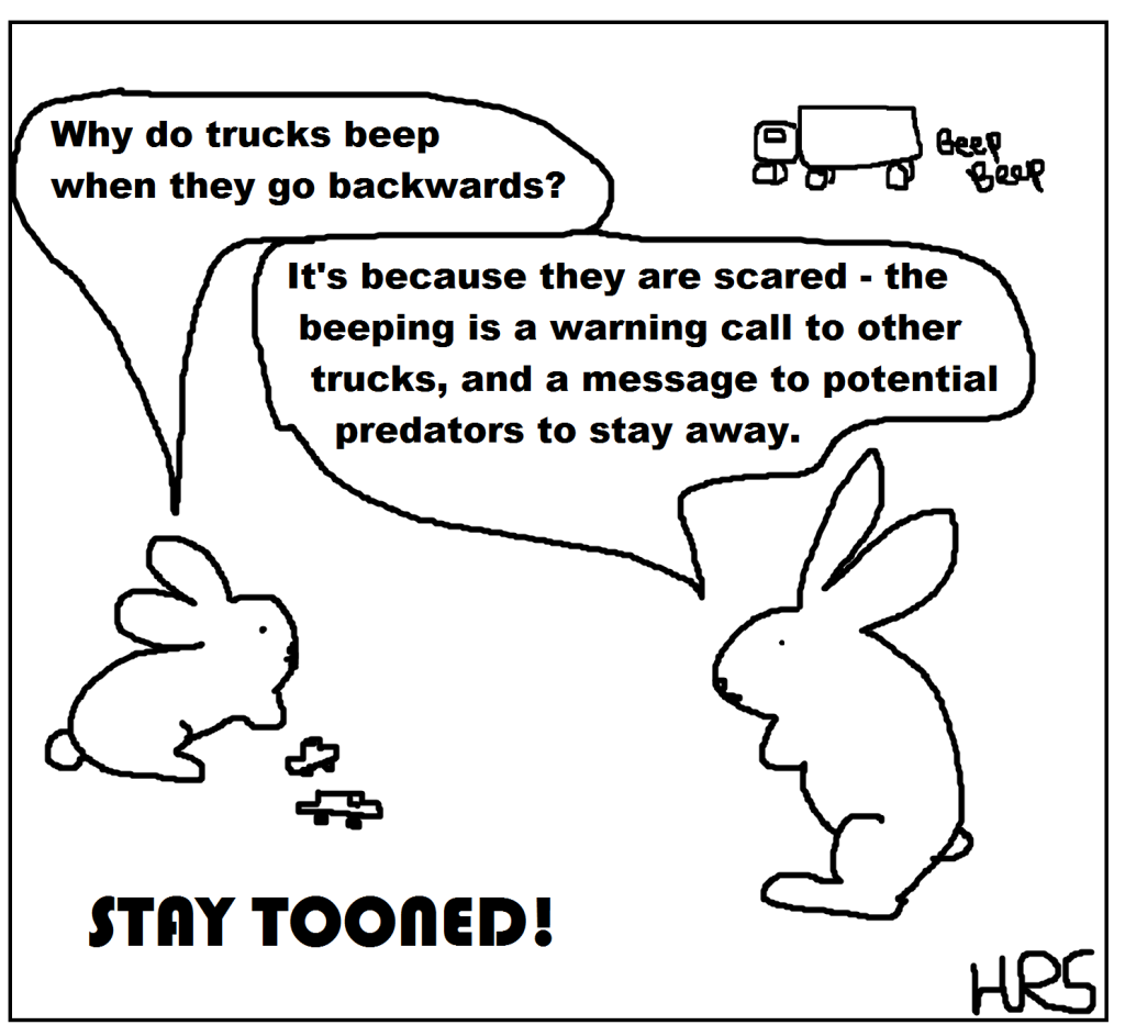 STAY TOONED truck communication
