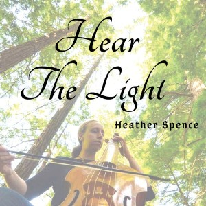 HearTheLight CD Cover Heather Spence